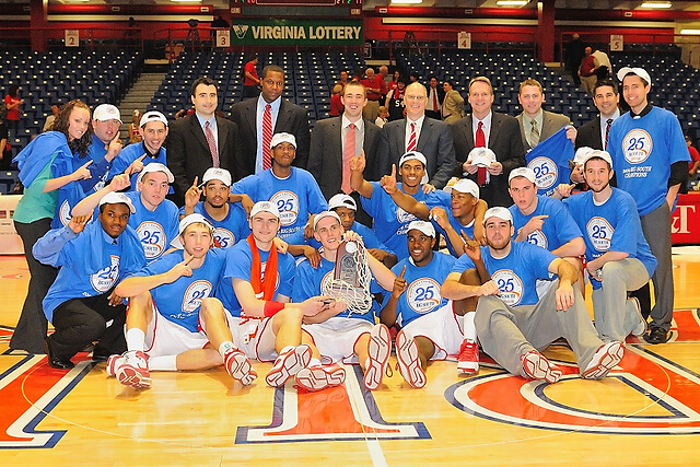 radford university men's basketball champions in 2009