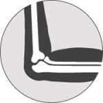 elbow joint pain icon