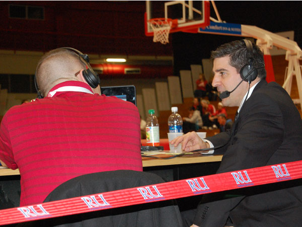 Dr. Bolin on the Air at RU