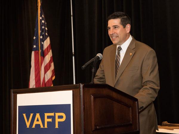 Dr. Bolin VAFP President 2018-19